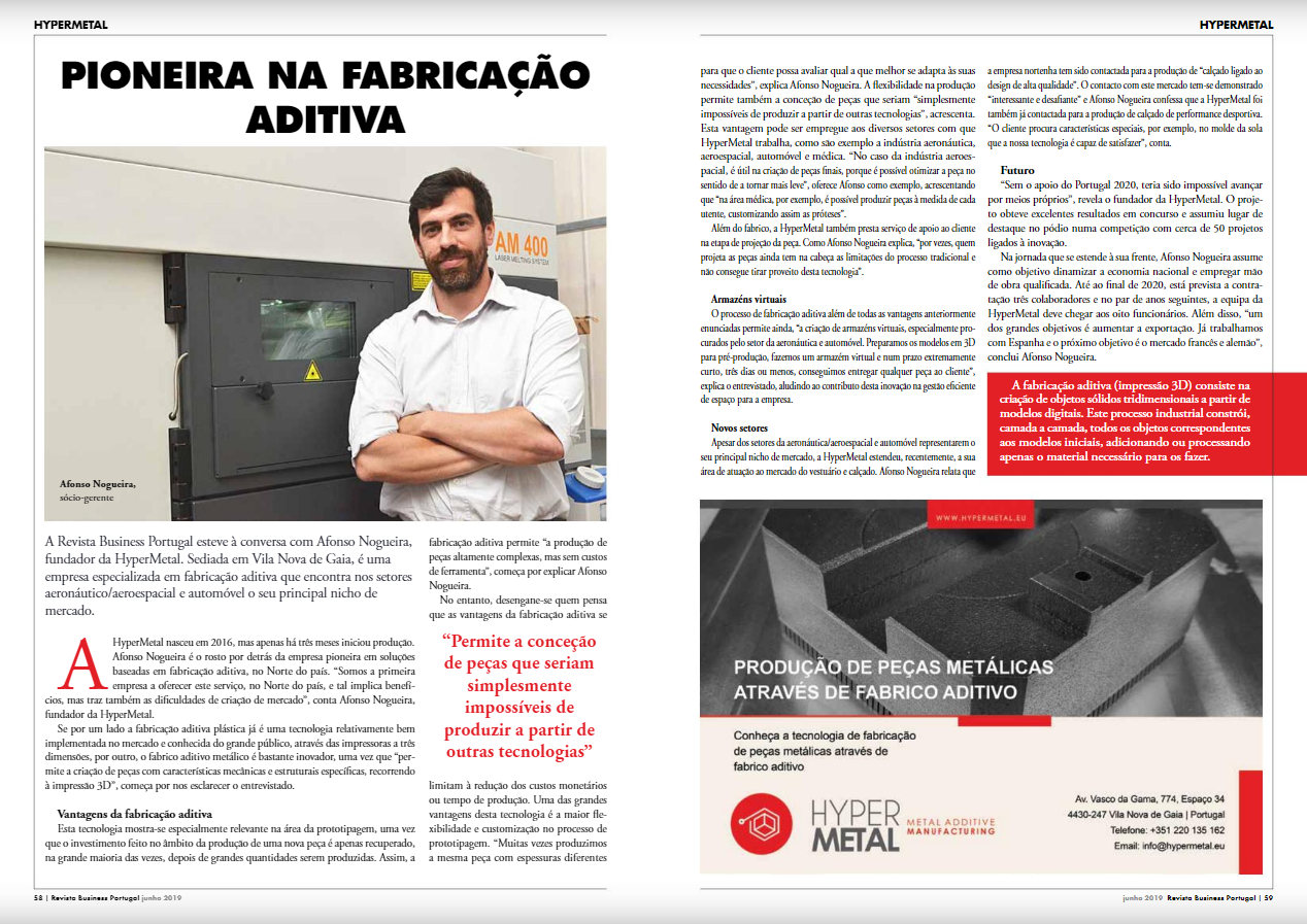 Artigo Business Portugal